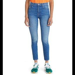 MOTHER Super Stunner Double Vision Jeans High Rise